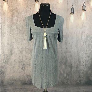 EUC Gray light sweater dress